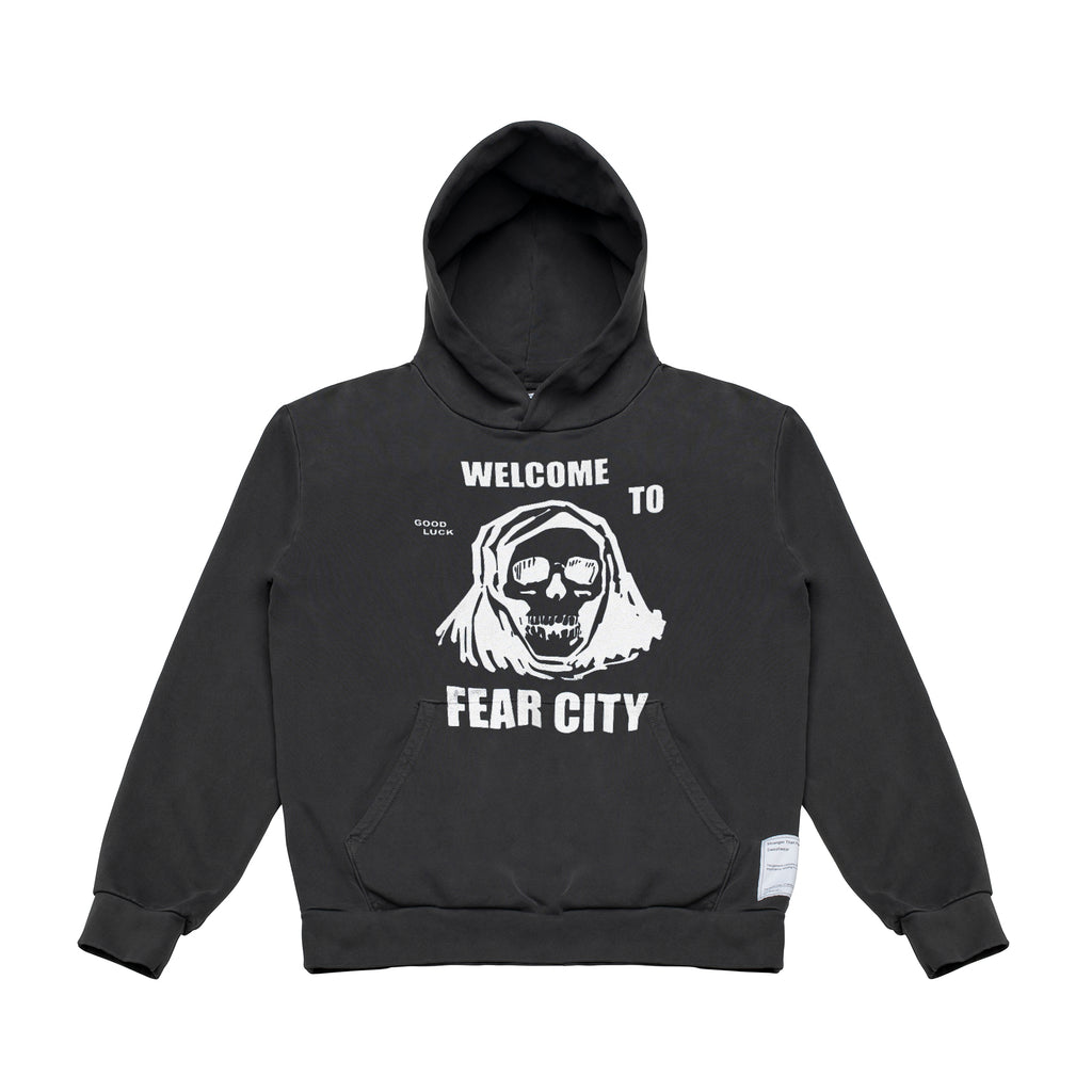 Fear City Hoodie - Black