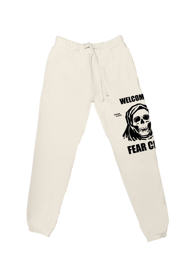 Fear City Sweatpant - White