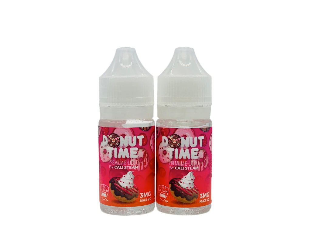 Donut Time | Chocolate Donut with Raspberry and Cream Vape