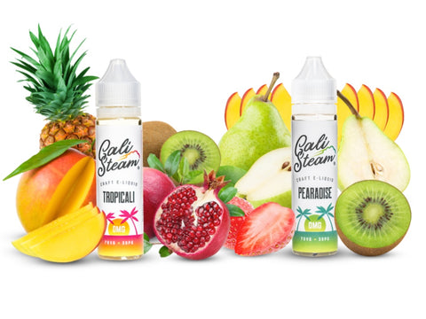 Fruit Flavors - Cali Steam