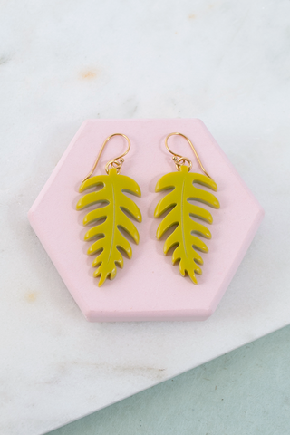 Small Fern Earrings