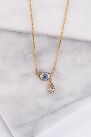 Teardrop Eye Necklace