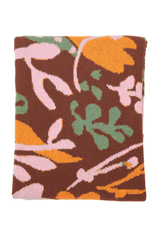 Hillery Sproatt Cinnamon & Poppies Throw