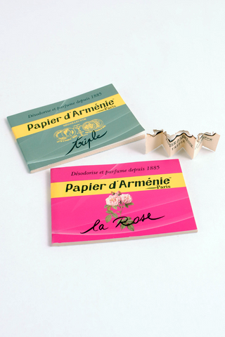 Paper Incense Booklets