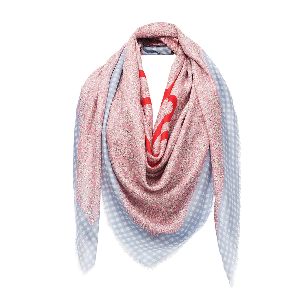 Liberty  scarf  gingham