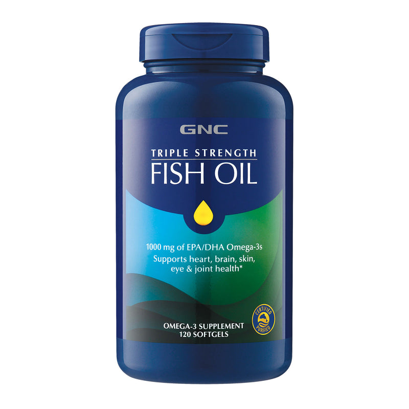 Triple Strength Fish Oil (120 Softgels)