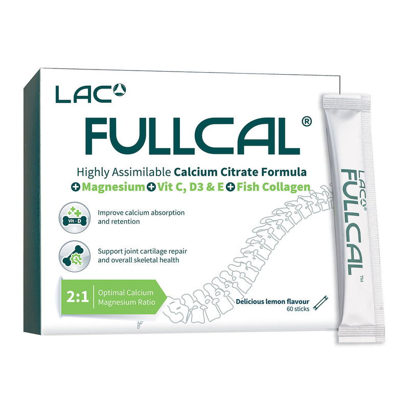 LAC Fullcal™ (2.5g x 60 Sticks)