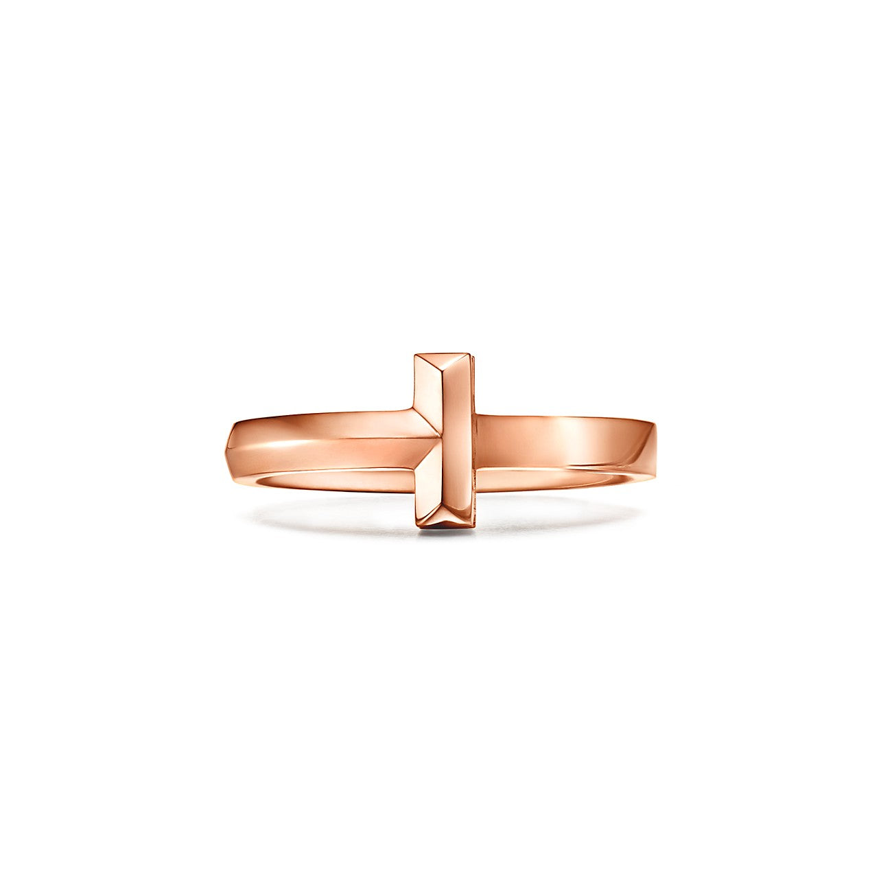 Tiffany T1 narrow ring in 18k rose gold