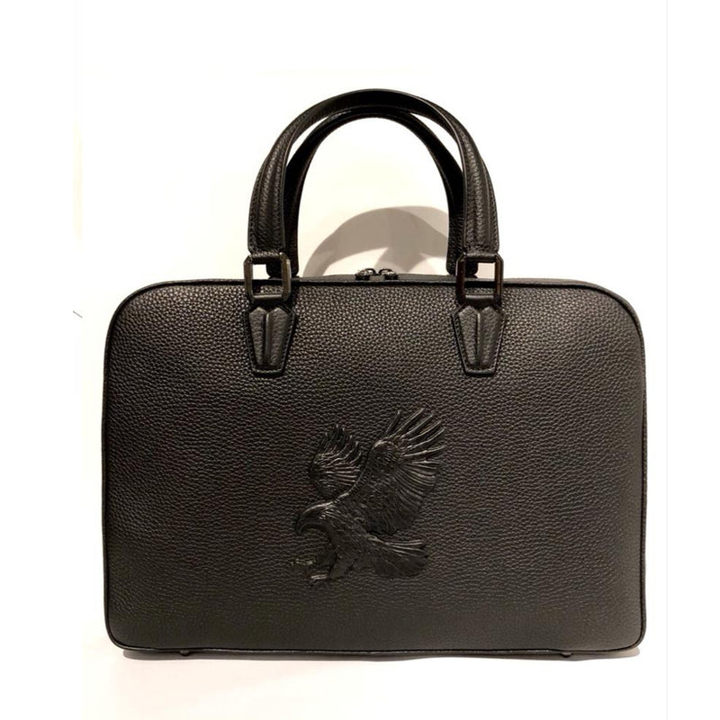 Embossed Flying Eagle Handbag