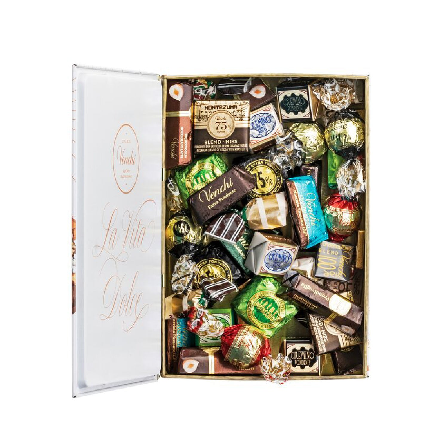 Assortment of 300g Chocolates White Maxi Book