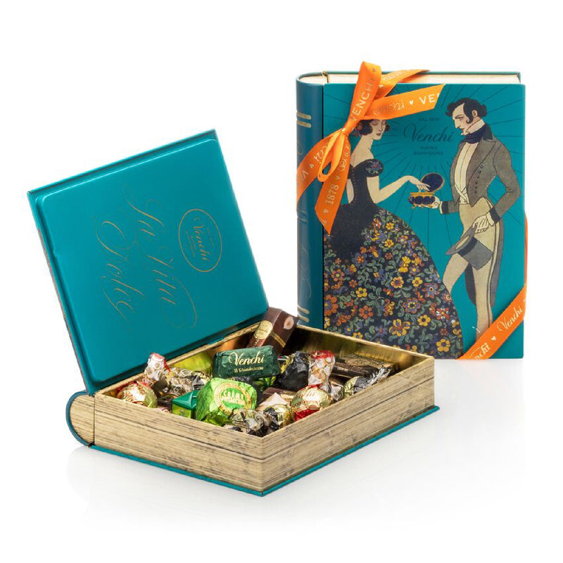 Assortment of 300g Chocolates Blue Maxi Book