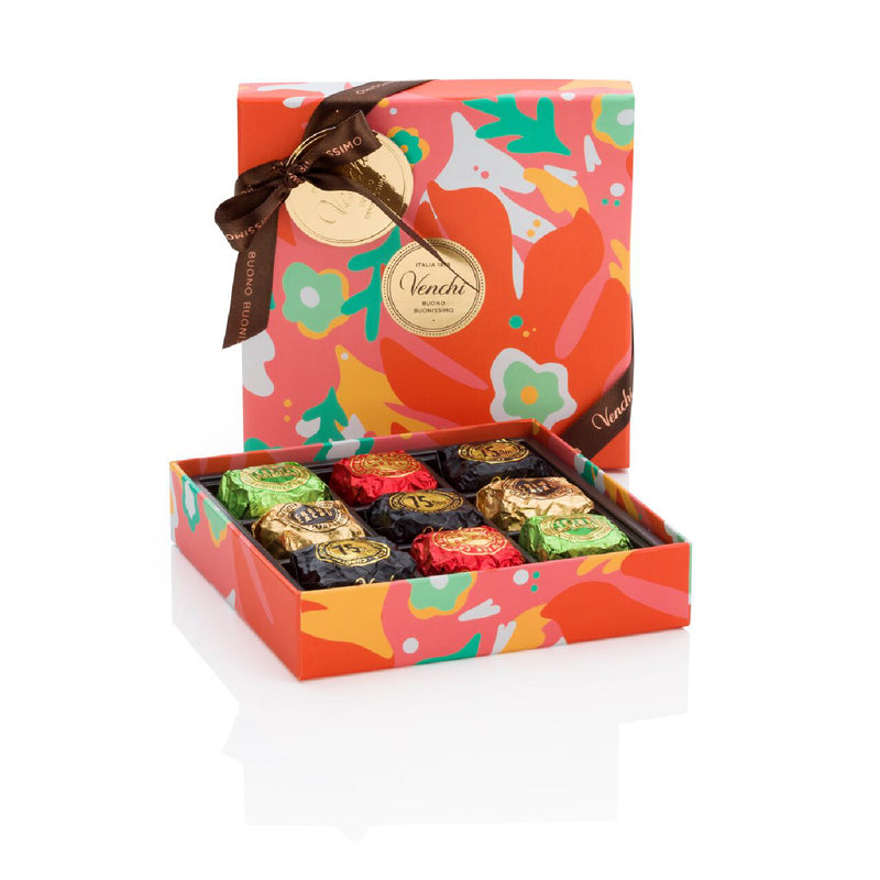Assorted Cubotti Chocoviar Spring Square Box 186g