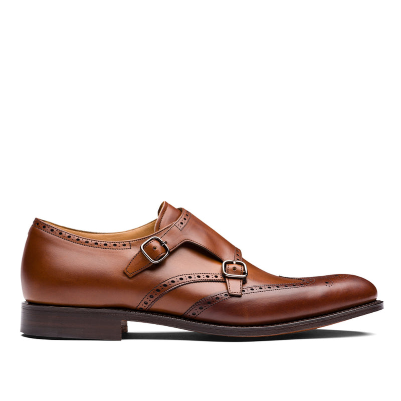 Chicago Nevada Leather Monk Strap Brogue