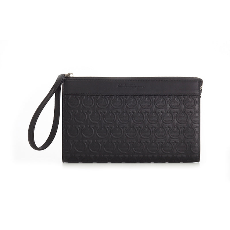 Travel Embossed Clutch