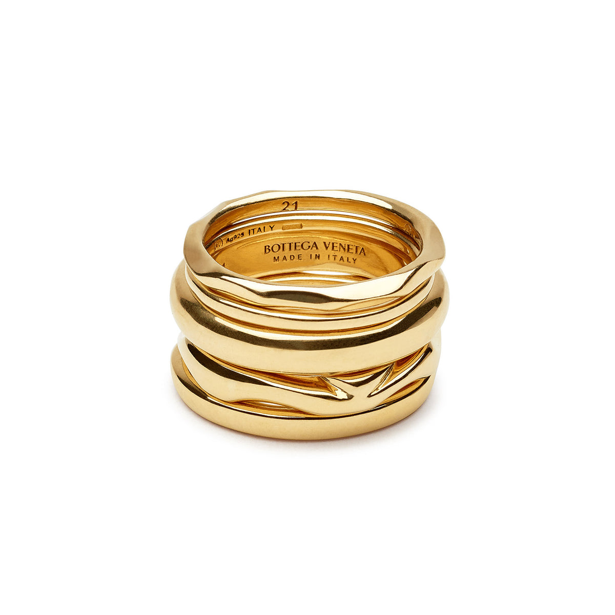 GOLD-PLATED SILVER RINGS