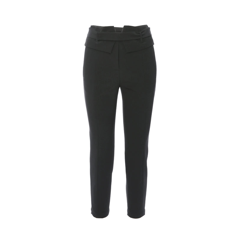 Slim Trouser with Waistband Detailing