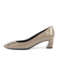 Belle Vivier Trompette Pumps in Patent Leather
