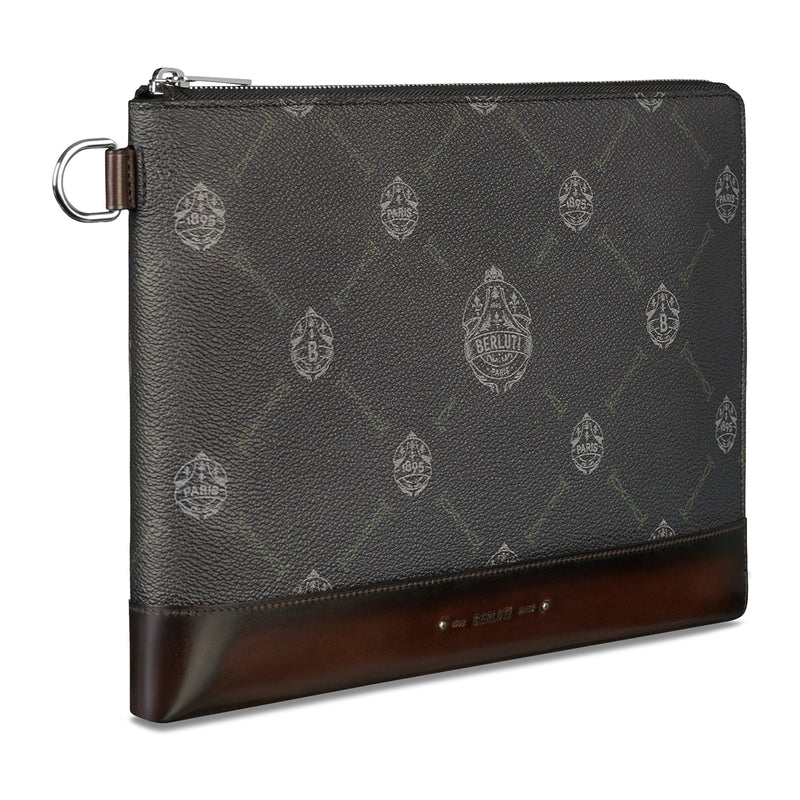 Nino GM Signature Canvas Clutch