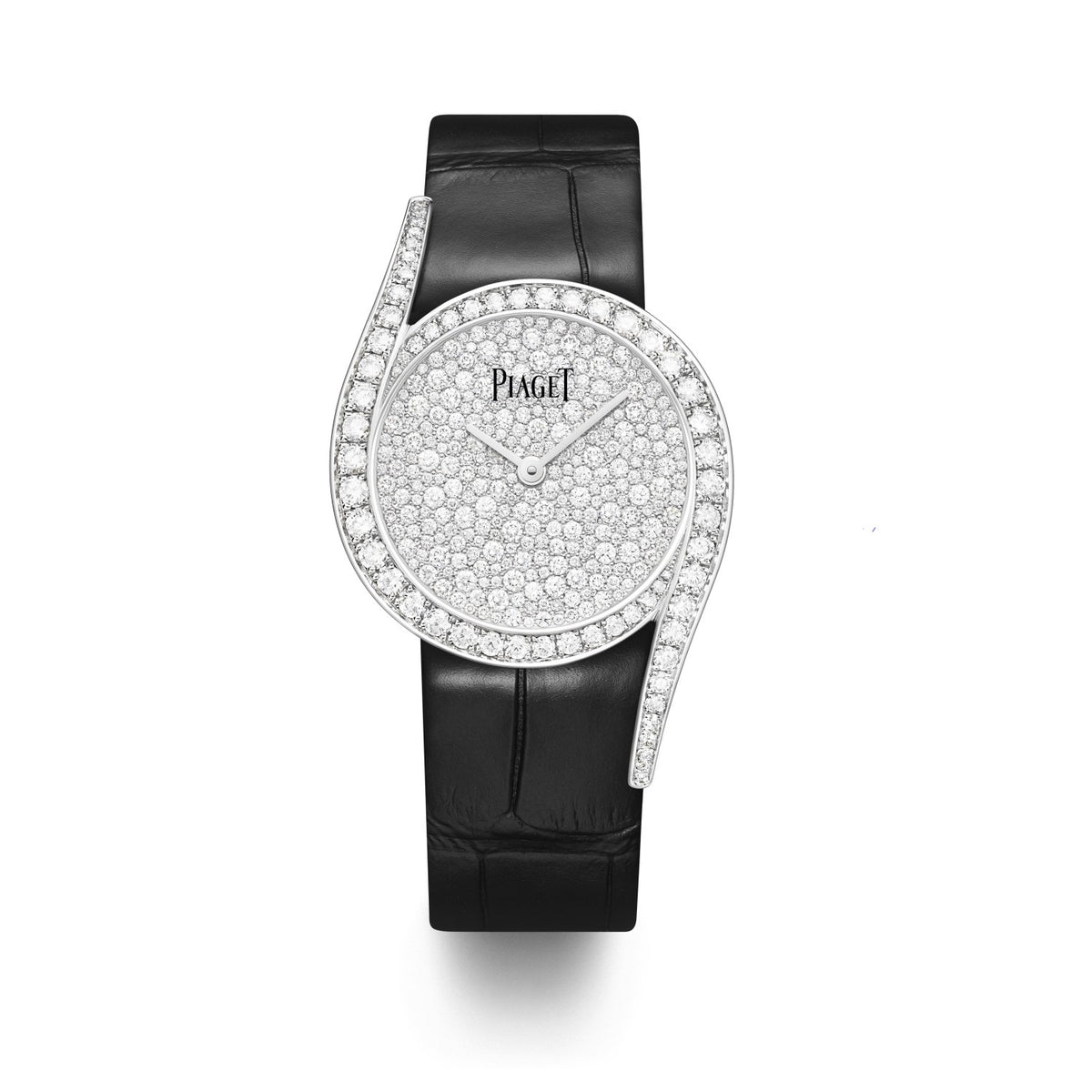 Limelight Gala watch, 32 mm. Case in 18K white gold set with 62 brilliant-cut diamonds (approx. 1.75 ct).