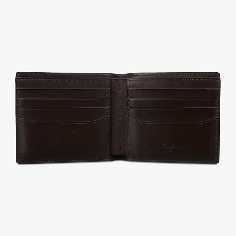 Makore Scritto Leather Wallet