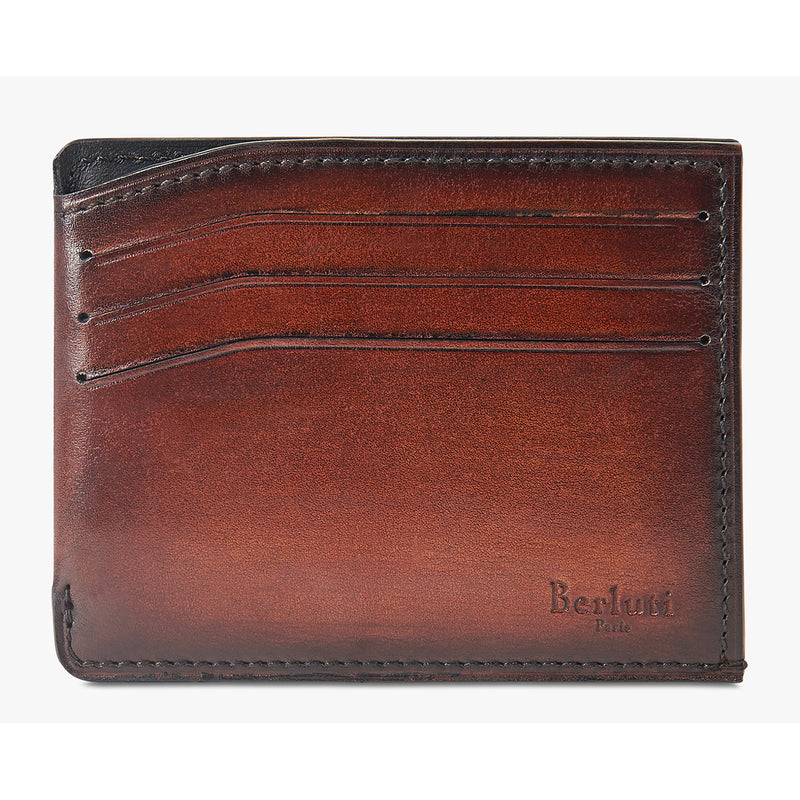 Bambou Leather Card Holder