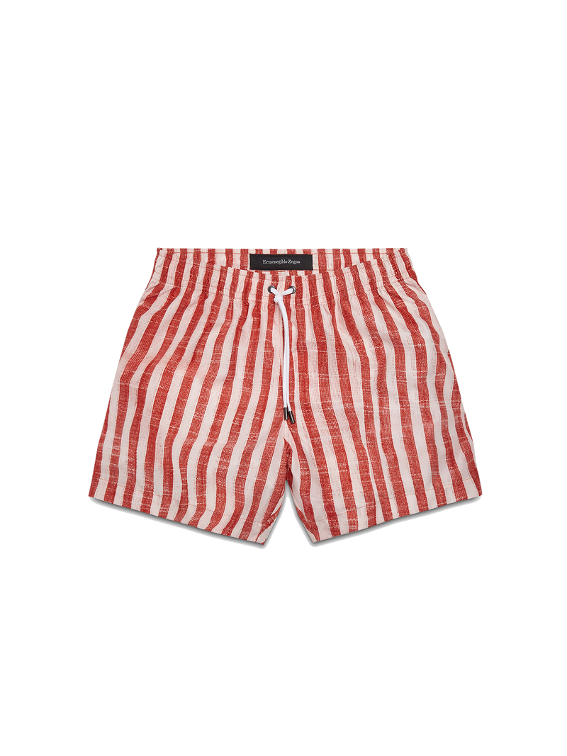 Striped Swim Boxers