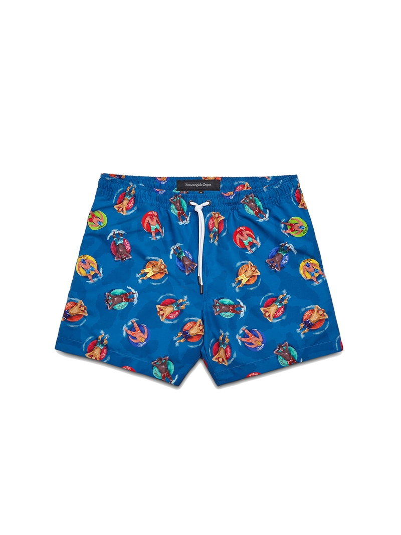 Holidaymakers Swim Boxers
