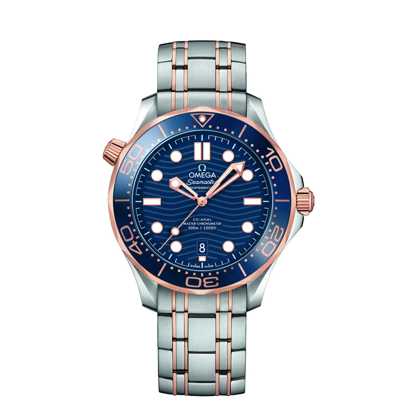 OMEDA SEAMASTER DIVER 300M CO-AXIAL MASTER CHRONOMETER 42 MM