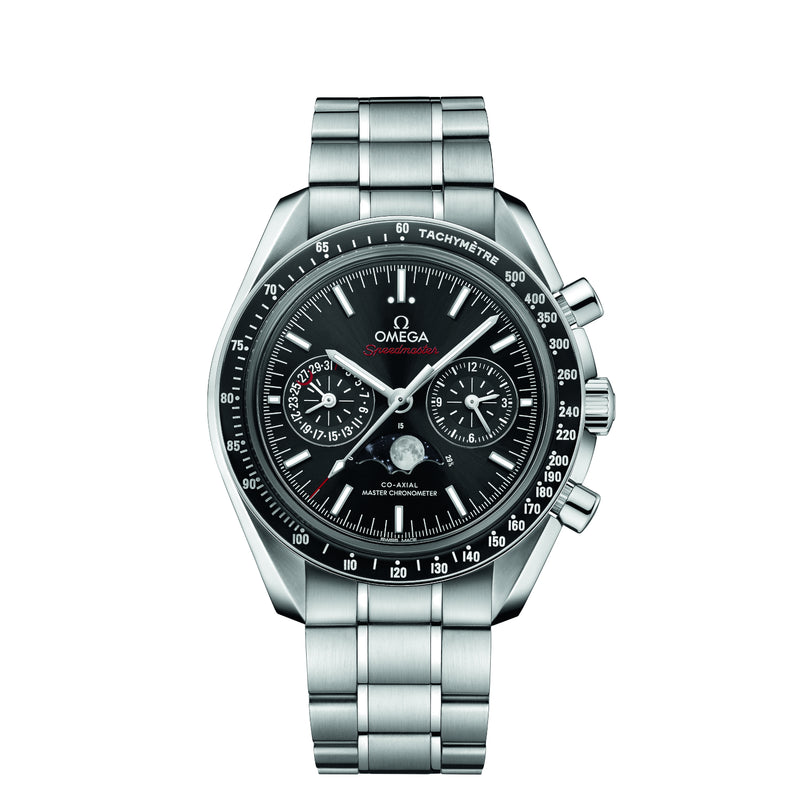 OMEGA SPEEDMASTER MOONPHASE CO‑AXIAL MASTER CHRONOMETER CHRONOGRAPH 44.25 MM
