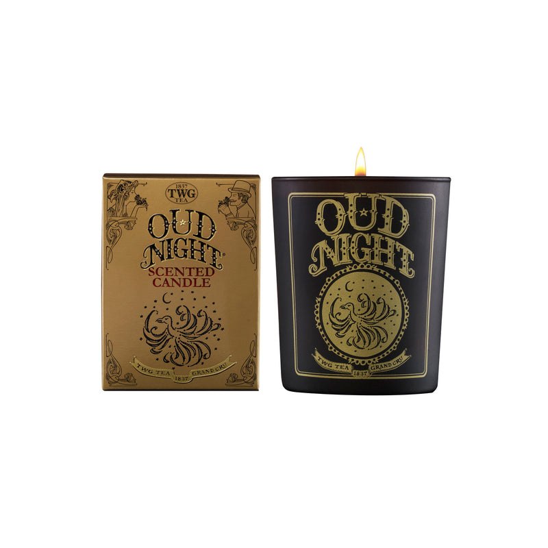 Oud Night Tea Scented Candle