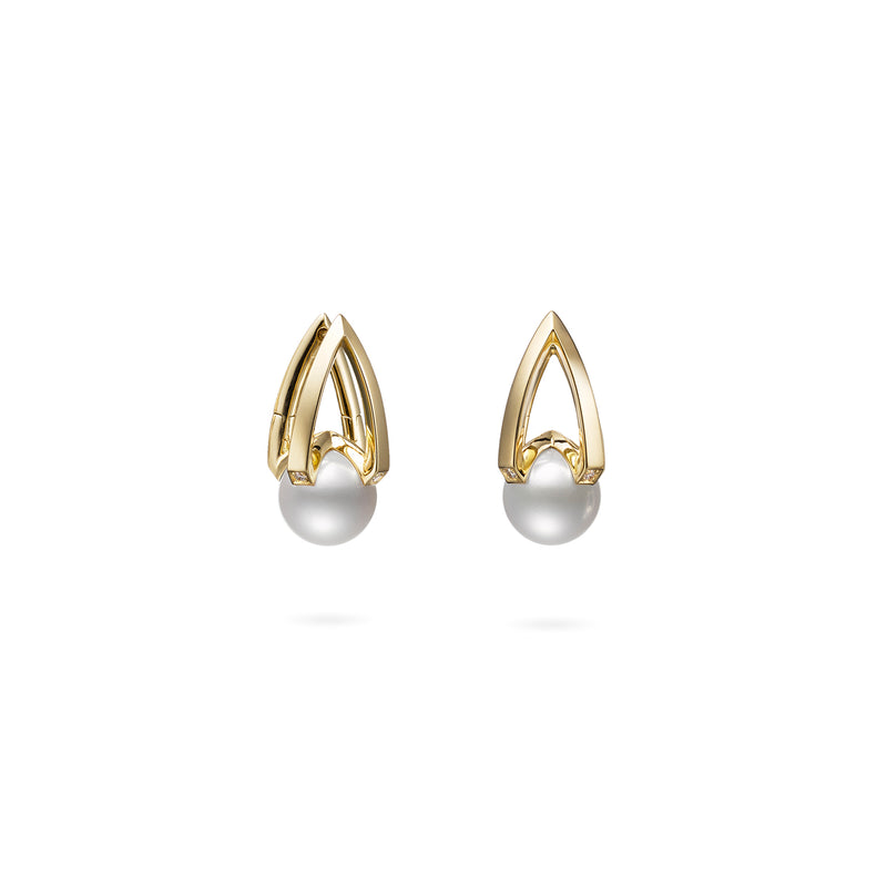 M Collection - Akoya Cultured Pearl Earrings