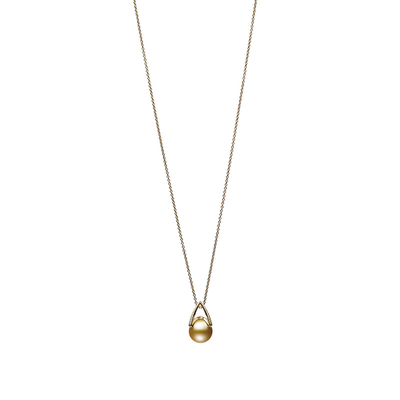 M Collection - Golden South Sea Cultured Pearl Pendant