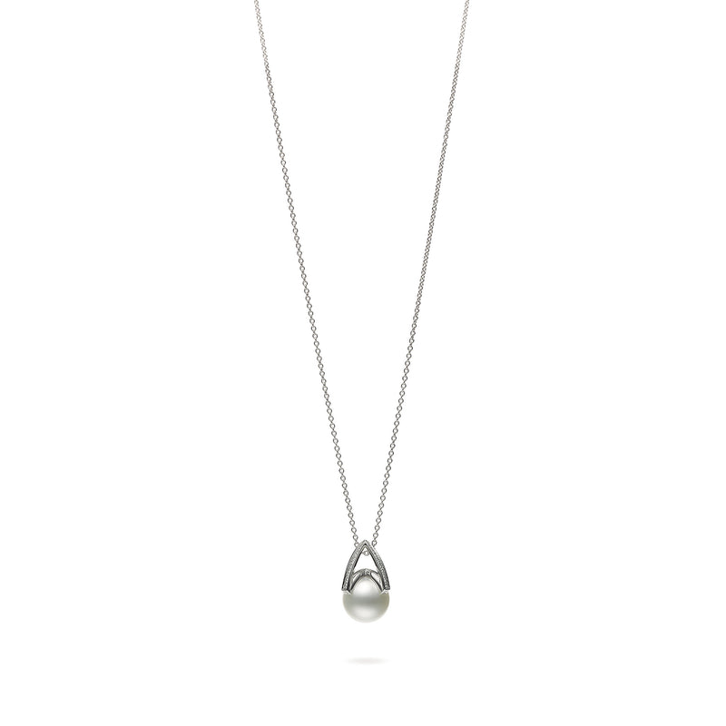 M Collection - White South Sea Cultured Pearl Pendant