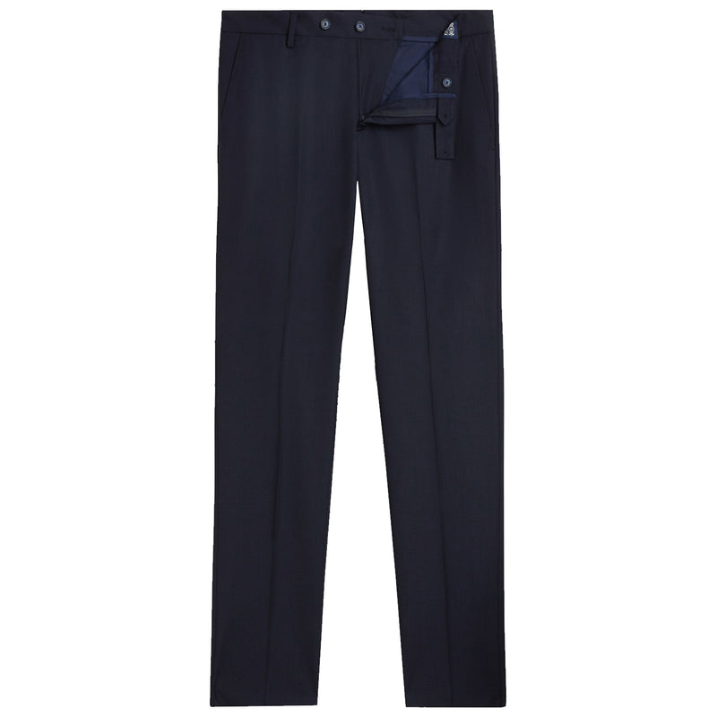 Plain Ultra-Lightweight Wool Trousers