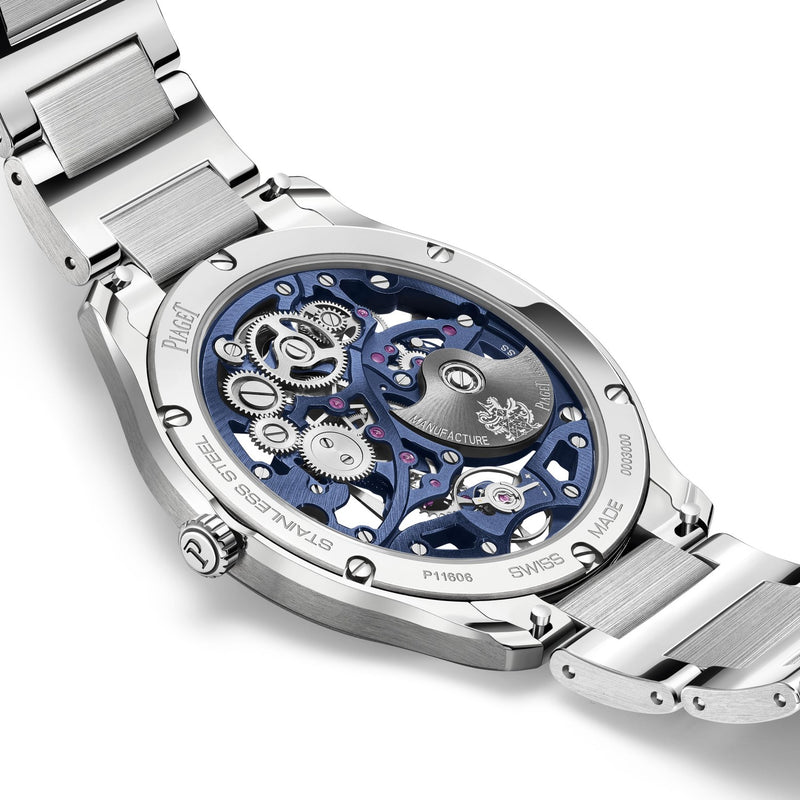 Piaget Polo Blue Skeleton