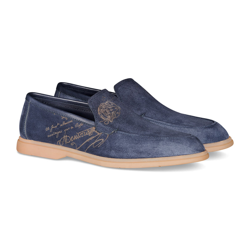 Latitude Suede Leather Loafer