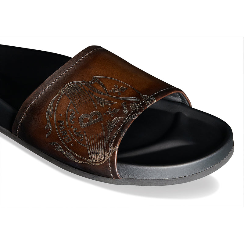 Egio Stamp Leather Sandal