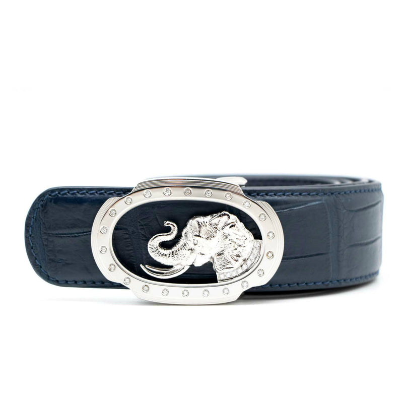 Stefano Ricci Elephant Diamond Belt