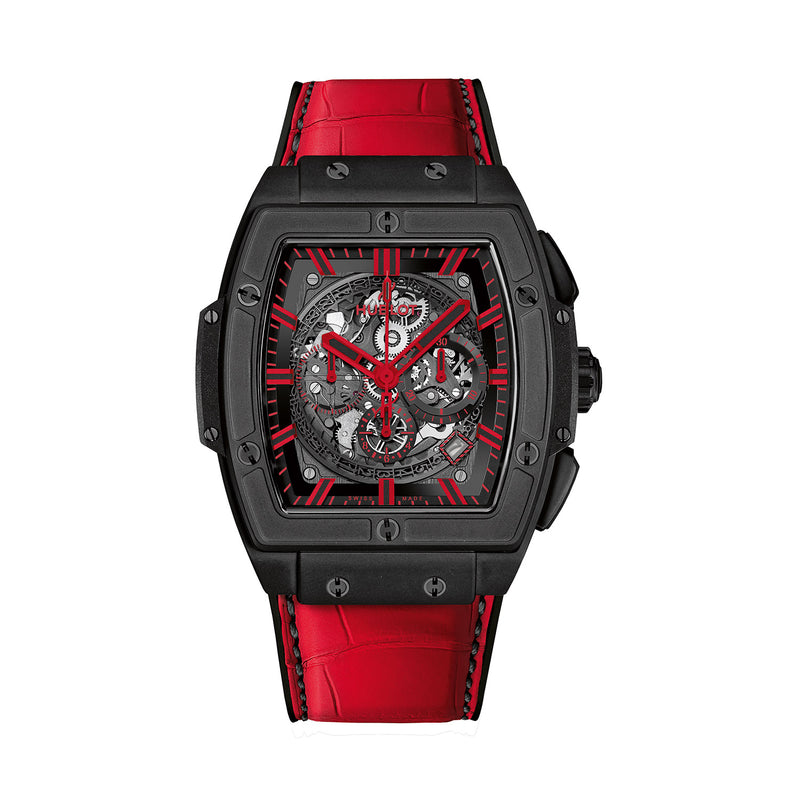 Spirit of Big Bang All Black Red 45mm