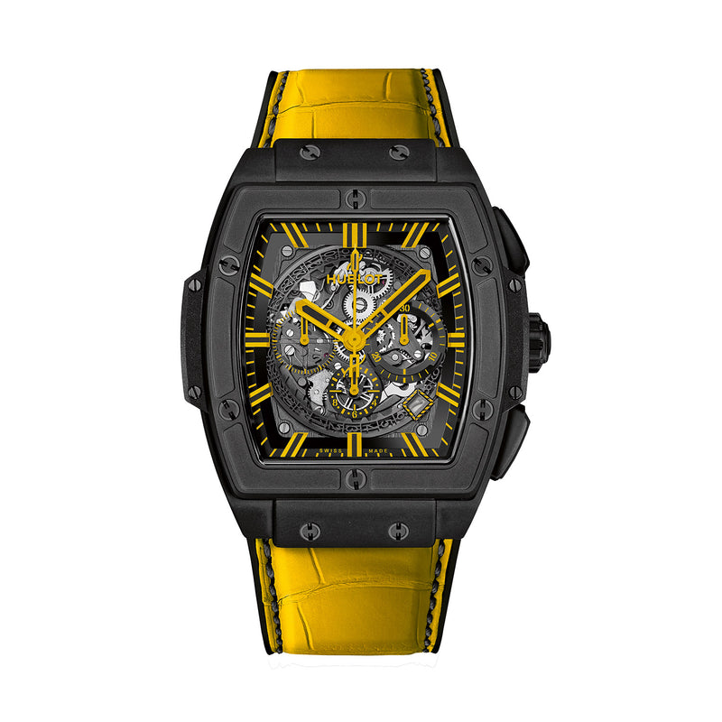Spirit of Big Bang All Black Yellow 45mm