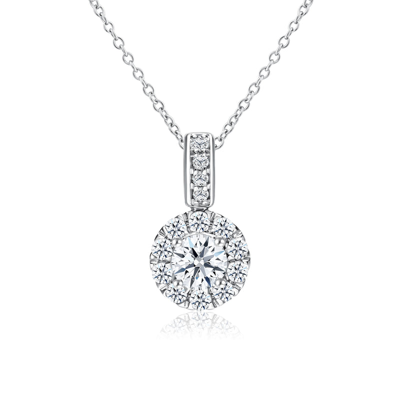 Star Carat Fairy Diamond Pendant