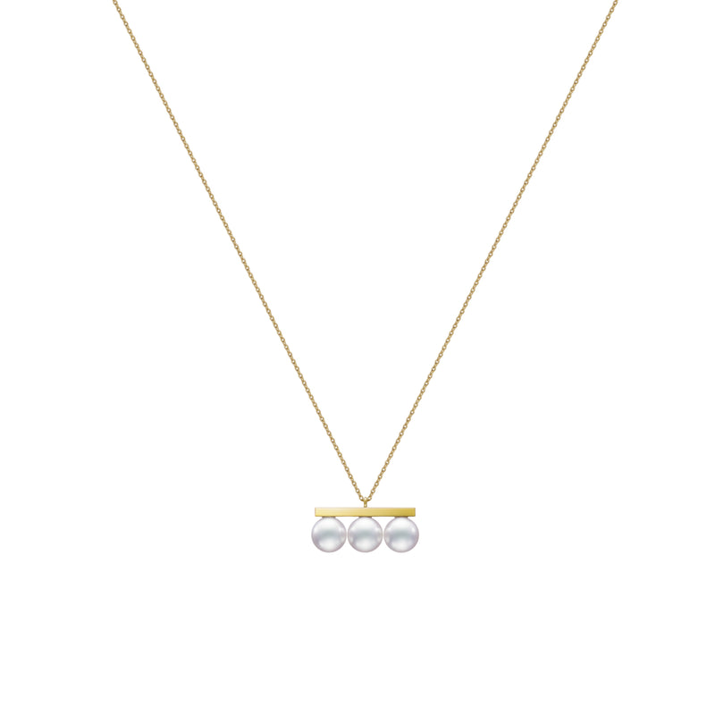 Balance Neo Necklace Yellow Gold