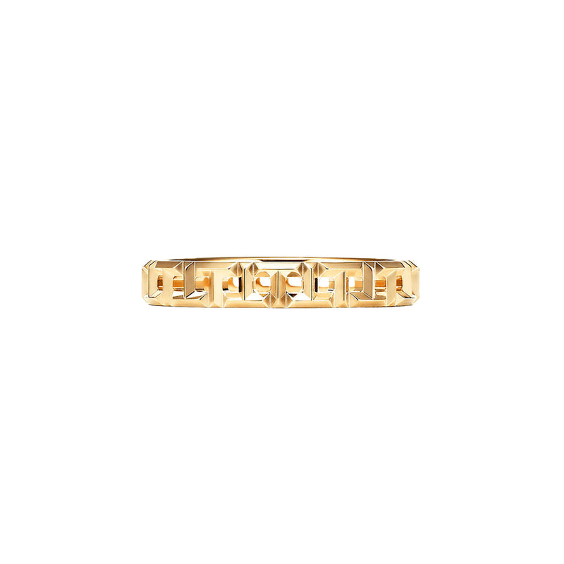 Tiffany T True Narrow Ring in 18k Yellow Gold