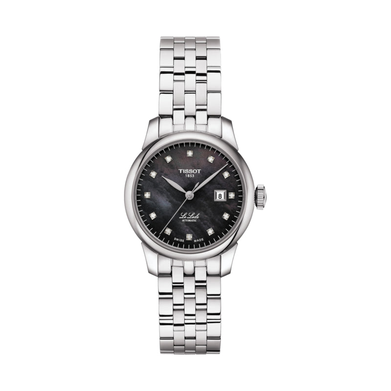 Le Locle Automatic Lady Black Mother-of-Pearl