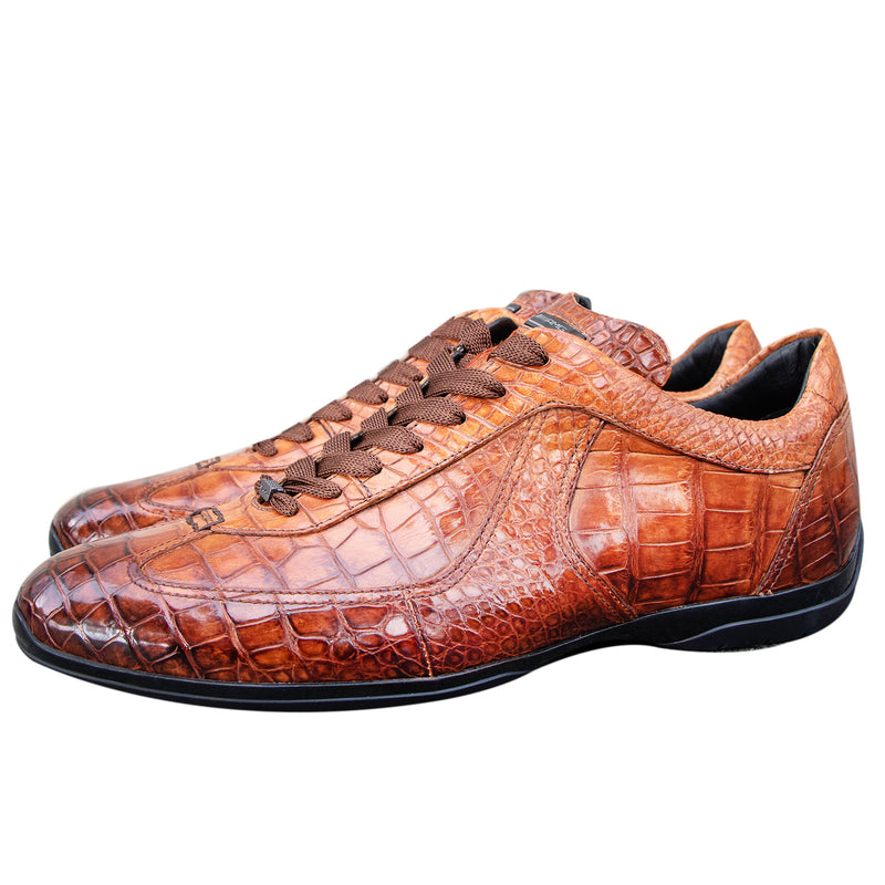 Santoni for AMG Alligator Shoes