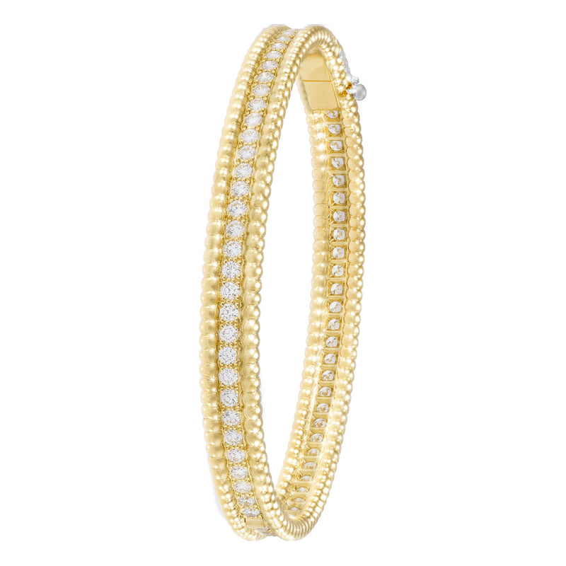 Perlée Diamonds Bracelet - 1 Row