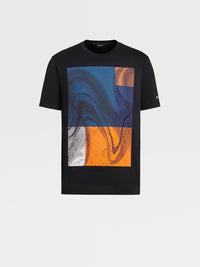 Z Zegna Bastract Cotton T-Shirt