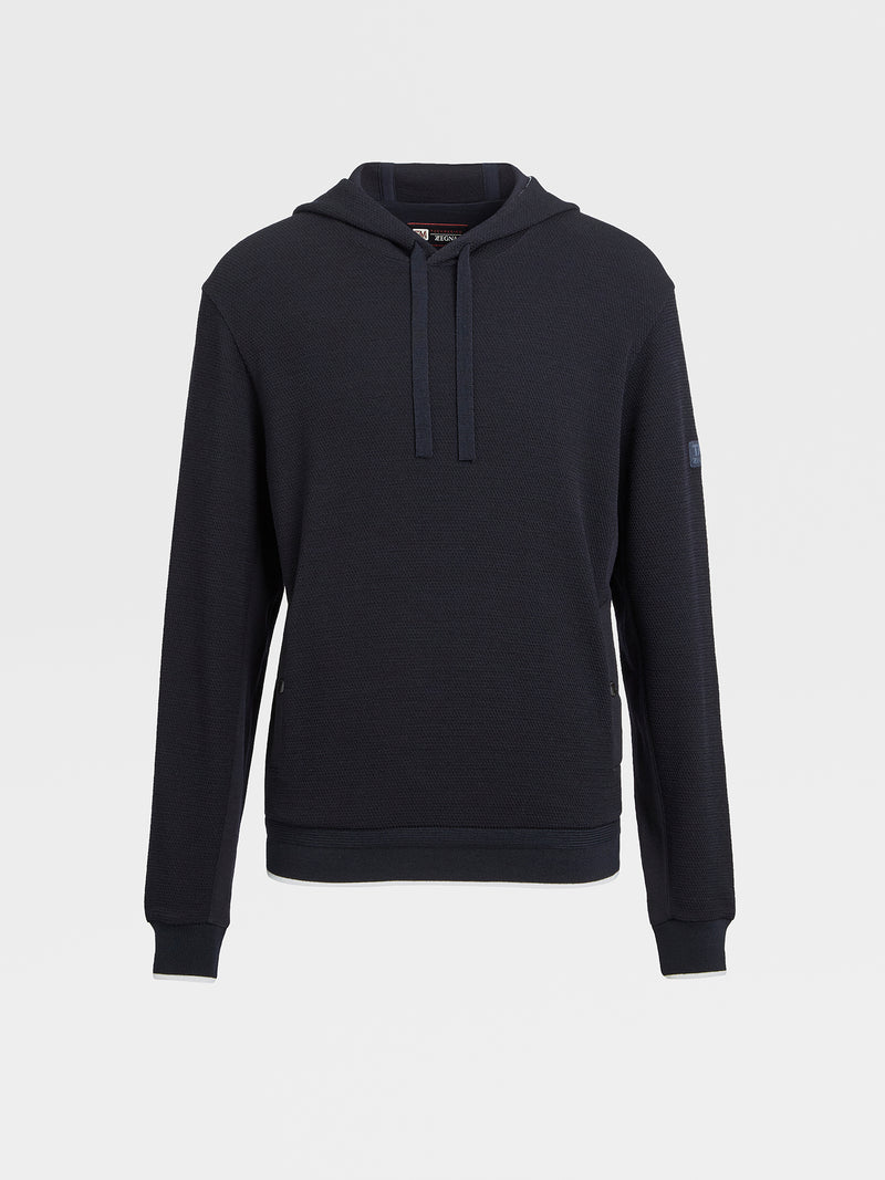 Z Zegna Techmerino™ Wool Hooded Sweatshirt