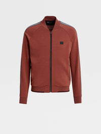 Z Zegna Techmerino™ Wool Full-Zip Sweatshirt