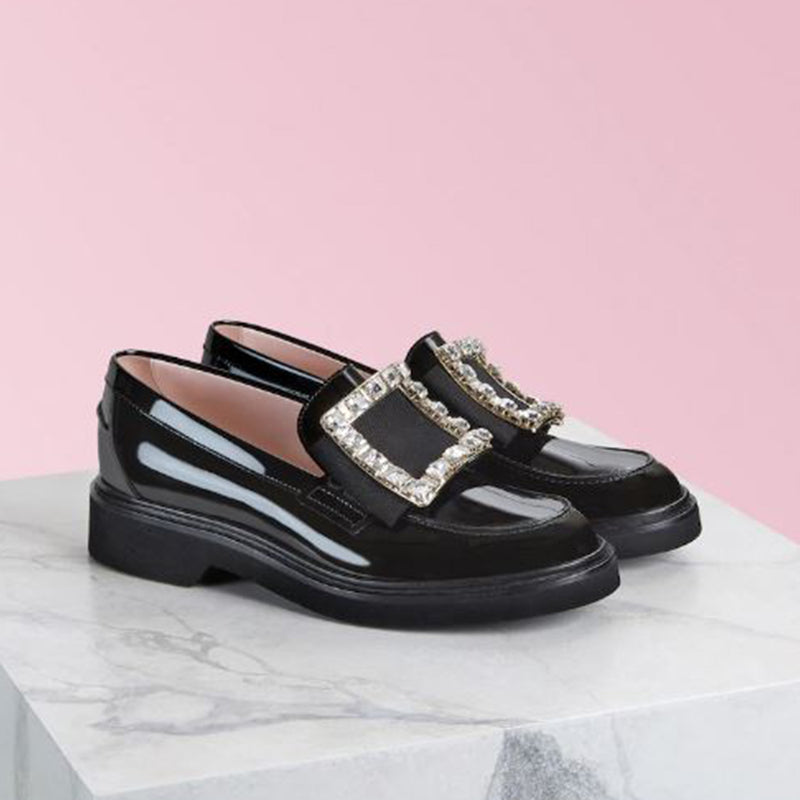 Viv' Rangers Strass Buckle Loafers